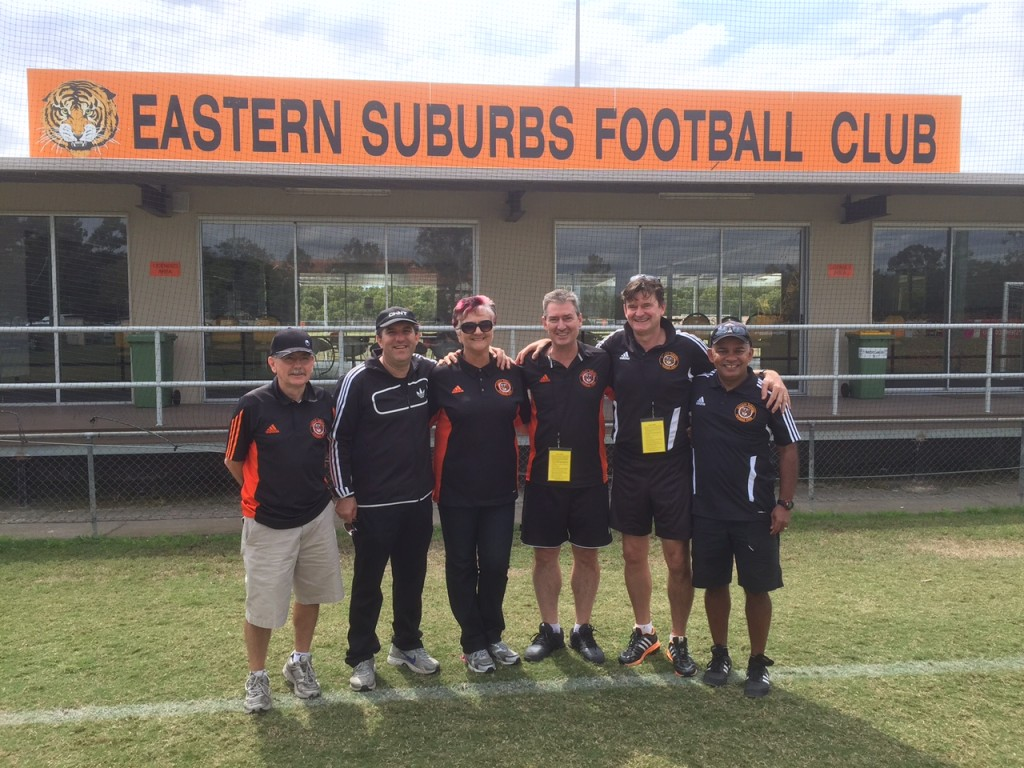 Eastern Suburbs Coaching Staff