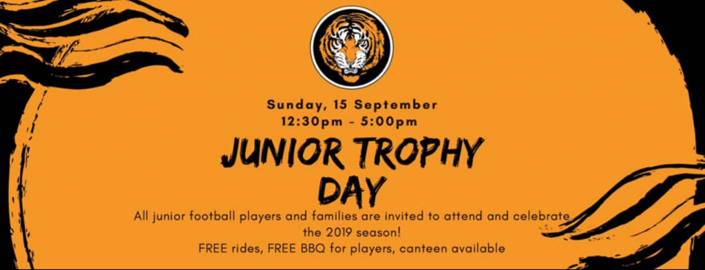 Junior Trophy day